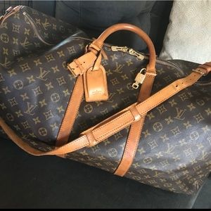 Louis Vuitton Keepall Bandouliere 60 Authe…